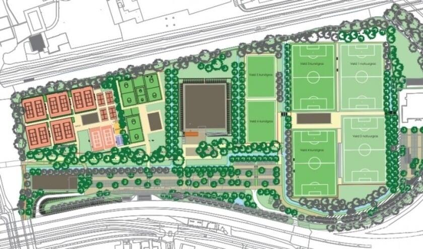 Plan om zwembad De Slag te verhuizen naar Sportpark Hoornseveld