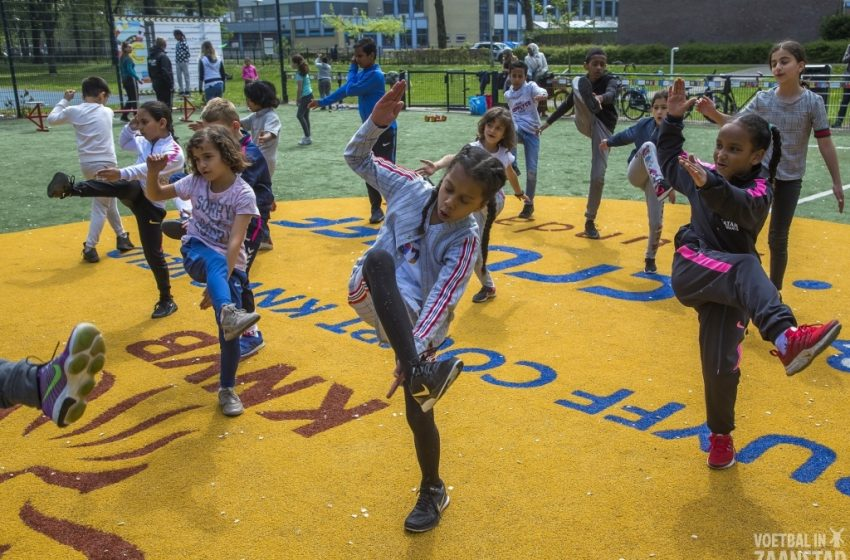 Veel kinderen bereikt tijdens Cultuur@CruyffCourt Zaandam