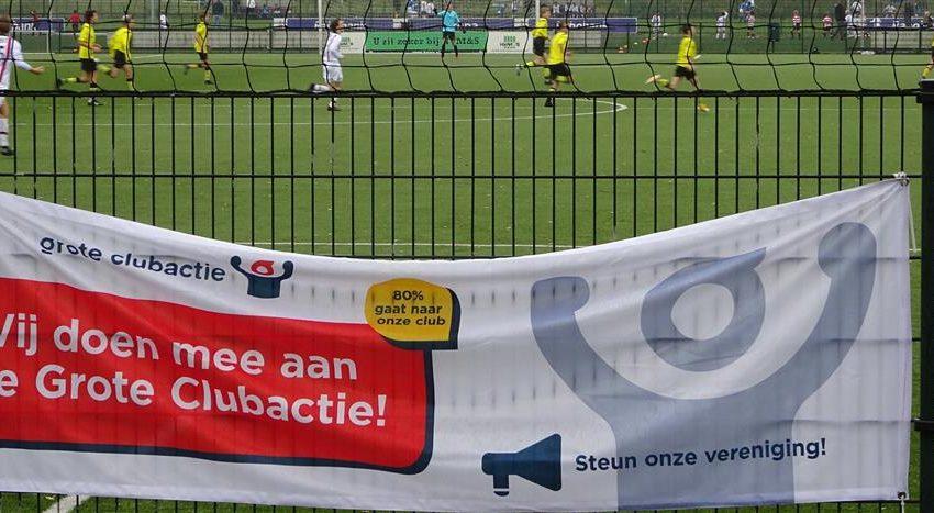 Clubs uit Wormerland halen € 23.658 op met Grote Clubactie