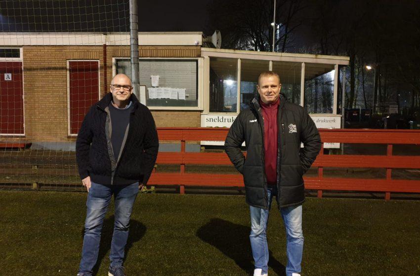 Trainers Harry Volkers en George Magielsen blijven bij RCZ in jubileumjaar