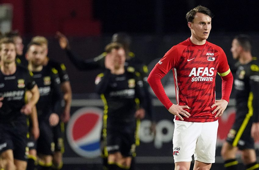 Jong AZ met 3-0 onderuit tegen Go Ahead Eagles