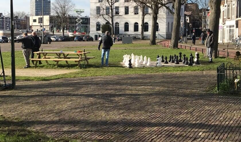 Je staat schaak Sjaak!