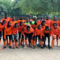Het Zaans oranje goed waarneembaar in West Afrika