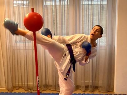 Samy Achghouyab Nederlandse kampioen in E-Karate