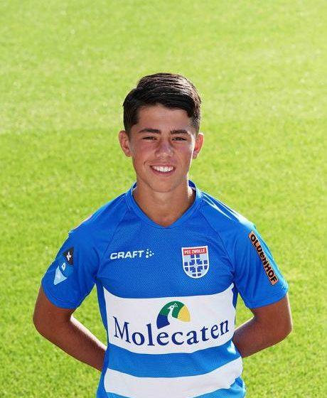 Zaanse jeugdspeler Diango Hemminga content bij PEC Zwolle