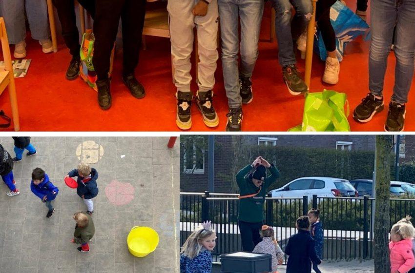 Kinderen gaan er hand in hand voor: de Koningsspelen