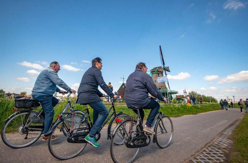 Molendagen start Zaans fietsseizoen: Erop uit in de Zaanstreek