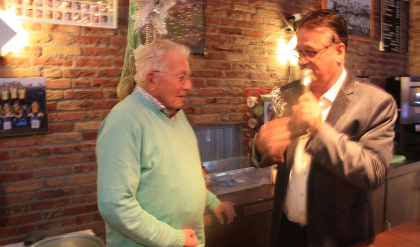 Voorzitter George Zwart van vv Knollendam blij met corona-verruiming