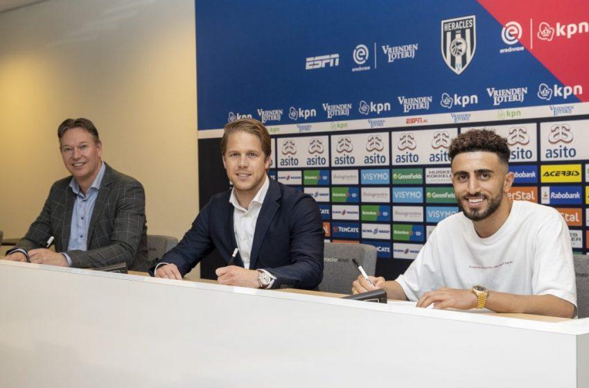 Basacikoglu zet handtekening onder tweejarig contract bij Heracles Almelo
