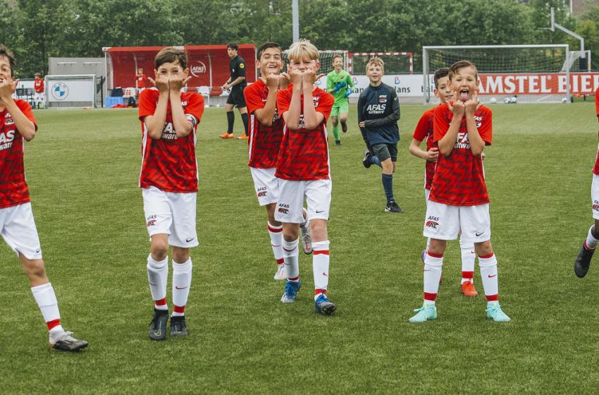 Ook op het AFAS trainingscomplex Zaanstad rolt de bal weer: Oefenresultaten AZ Jeugd