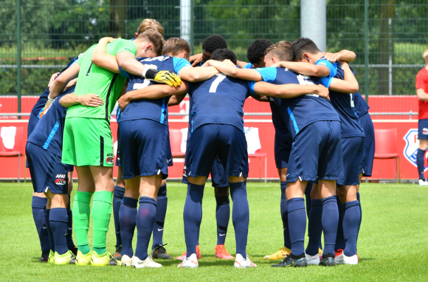 Jong AZ wint uitduel bij vv Katwijk
