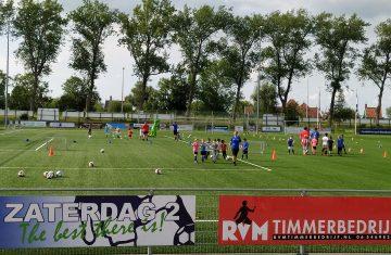 Geef je op voor de Saense Football Clinics bij Zaandijk