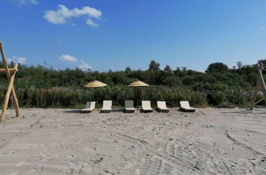 Tijdelijk stadsstrand 'Poelenburg Beach' geopend