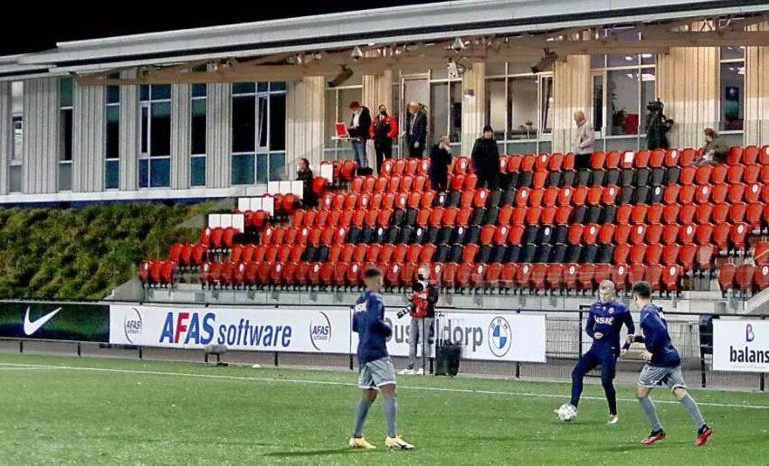 Jong AZ-FC Volendam op Zaanse bodem