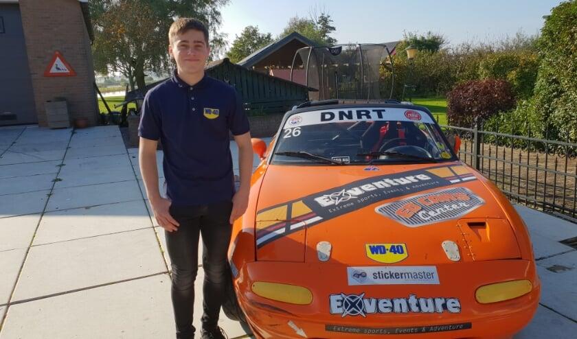 De droombaan van de 15 jarige Chris Schuttert uit Oostzaan
