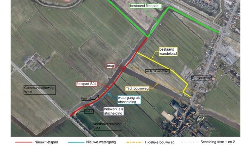 Aanleg fietspad Kaaikpad; van Sportpark de Omzoom naar Communicatieweg